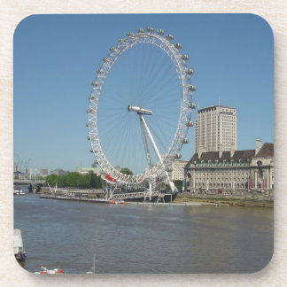 The London Eye Beverage Coaster