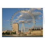 The London Eye - blank NoteCard Stationery Note Card