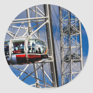 The London Eye Classic Round Sticker