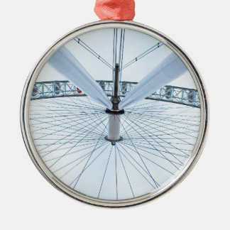 The London Eye - England Metal Ornament