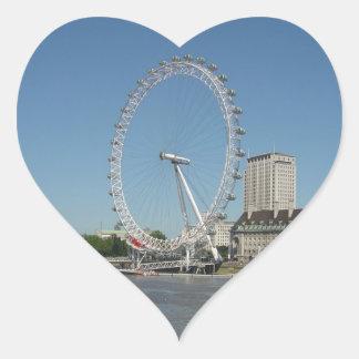 The London Eye Heart Sticker