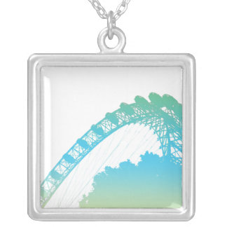 The London Eye in Pastel Necklace