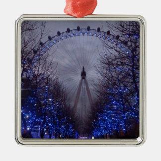 The London Eye Metal Ornament