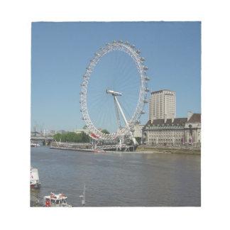 The London Eye Memo Notepad