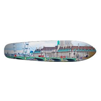 The London Eye on a Sunny Day Skateboard Decks