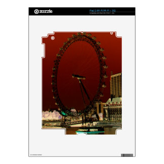 The London Eye Decal For The iPad 2