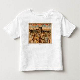 """The London Gaiety Girls """"Arrival to New York"""" Shirt"""