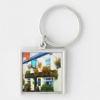 The London Inn Padstow Cornwall Watercolour Keychain