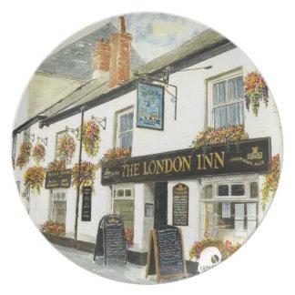 'The London Inn' Plate
