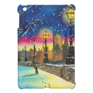 The London lamplighter thames Gordon Bruce art Case For The iPad Mini