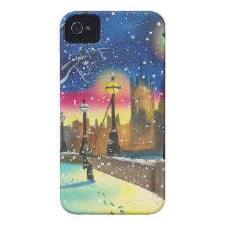 The London lamplighter thames Gordon Bruce art iPhone 4 Case