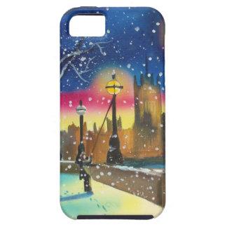 The London lamplighter thames Gordon Bruce art iPhone SE/5/5s Case