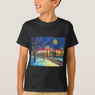 The London lamplighter thames Gordon Bruce art T-Shirt