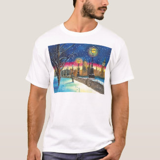 The London lamplighter thames Gordon Bruce art T-Shirt