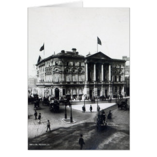 The London Pavilion, Piccadilly Card