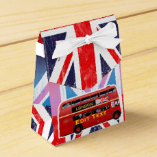 The London Red Bus Favor Box
