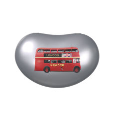 The London Red Bus Jelly Belly Candy Tin