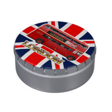 The London Red Bus Jelly Belly Tins