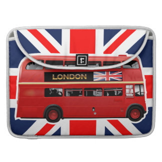 The London Red Bus MacBook Pro Sleeve
