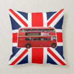 The London Red Bus Pillow
