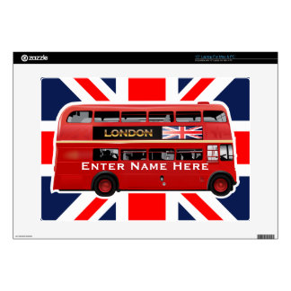 The London Red Bus Skins For Laptops
