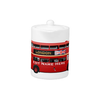 The London Red Bus Teapot