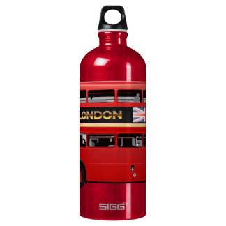 The London Red Bus Water Bottle
