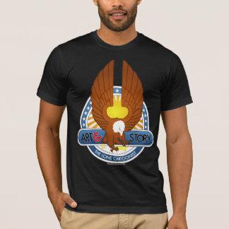 The Lone Cartoonist Shirt (Dark)