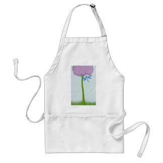 The Lone Hydrangea Adult Apron