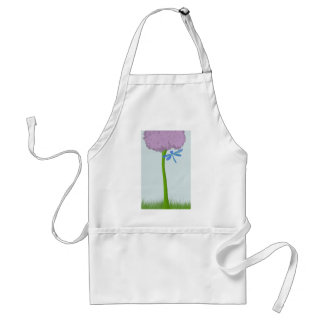 The Lone Hydrangea Adult Apron