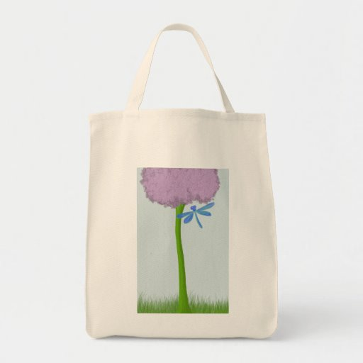 The Lone Hydrangea Tote Bags