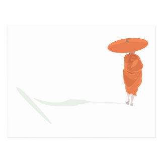 The lone monk post cards
