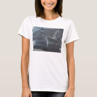 The Lone Queen Of The North Tirpitz Norway1944 T-Shirt