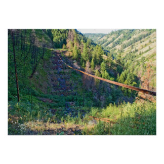 """The Lone Rail (28""""x20"""") Poster"""