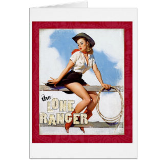 The Lone Ranger Greeting Cards