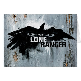 The Lone Ranger Logo with Mask 2 Greeting Cards