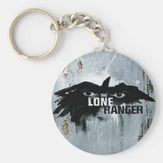 The Lone Ranger Logo with Mask 2 Keychain