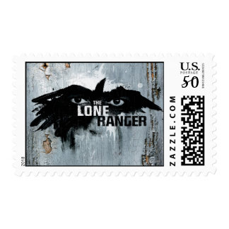 The Lone Ranger Logo with Mask 2 Postage