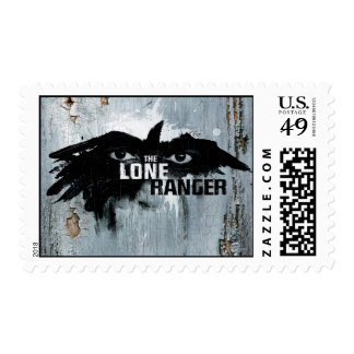 The Lone Ranger Logo with Mask 2 Stamp