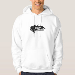 Men's Basic Hooded Sweatshirt with Disney Logos design