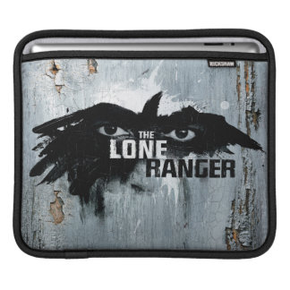 The Lone Ranger Logo with Mask iPad Sleeve