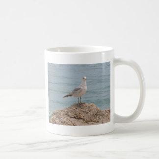 The Lone Seagull (2134) Classic White Mug 11oz