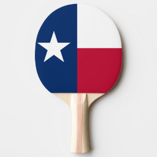 The Lone Star Flag Texas Flag Ping-Pong Paddle
