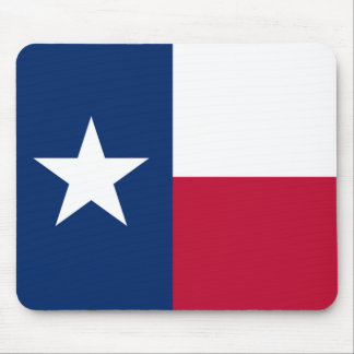 The Lone Star Flag Texas Flag Mouse Pad