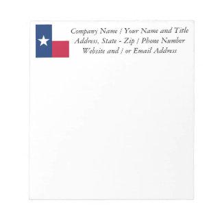 The Lone Star Flag Texas Flag Notepad