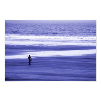 The Lone Surfer 2 Photo Print