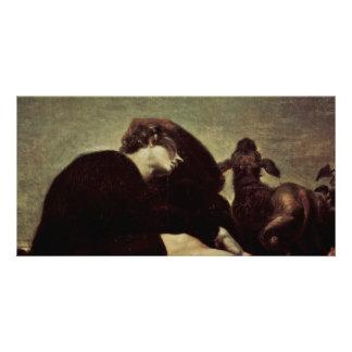 The Loneliness At Dawn By Füssli Johann Heinrich ( Card