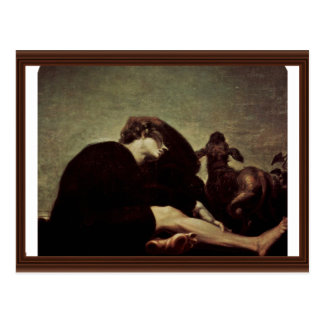 The Loneliness At Dawn By Füssli Johann Heinrich Post Card