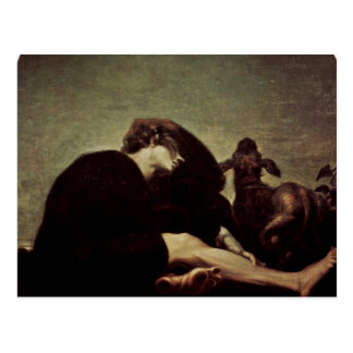 The Loneliness At Dawn By Füssli Johann Heinrich Post Cards