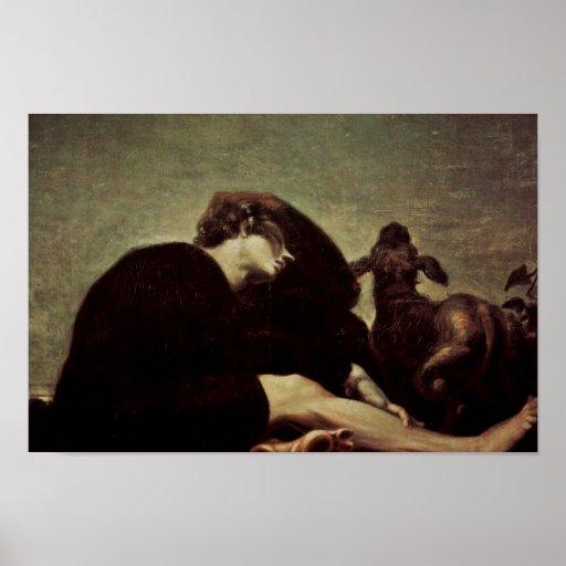 The Loneliness At Dawn By Füssli Johann Heinrich ( Print